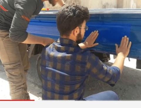 이란에서 유행하고있는 자동차 튜닝