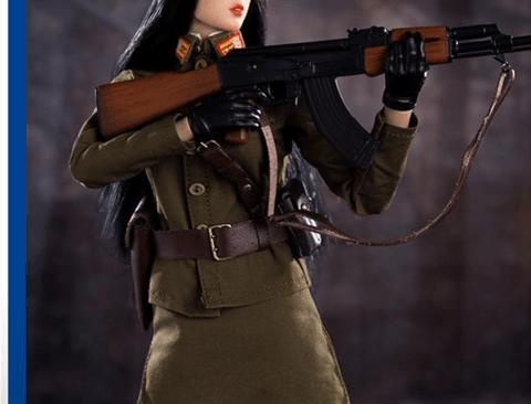 퀄리티 오지는 북한 여군 피규어