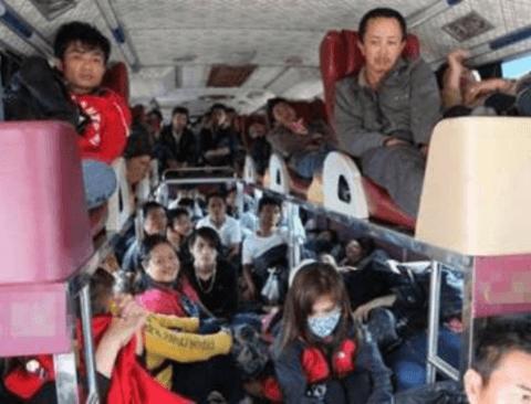 흔한 베트남 귀성길 버스 클라스
