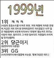1999년~2011년 유행어 모음 (추억돋음주의)