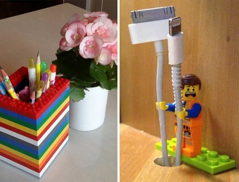 레고의 변신! 블럭 재활용방법 20가지