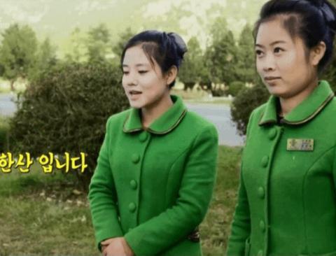 북한 휴게소 방문한 샘 해밍턴