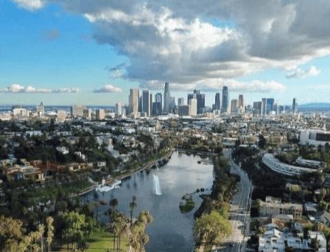 공기 안좋기로 유명한 LA 최신 근황