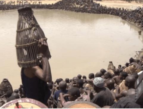 1년에 단 하루만 물고기를 잡는 아프리카 부족