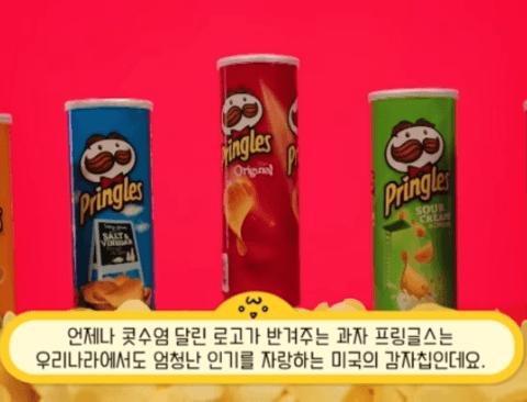감자칩 행세를 하고 있는 프링글스의 진실