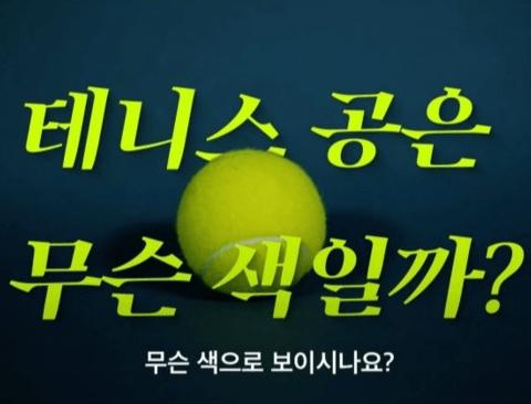 [스압] 컬러 TV 등장으로 색깔이 바뀐 테니스공