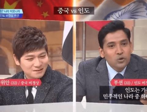 [스압] 중국 비정상 vs 인도 비정상의 대결