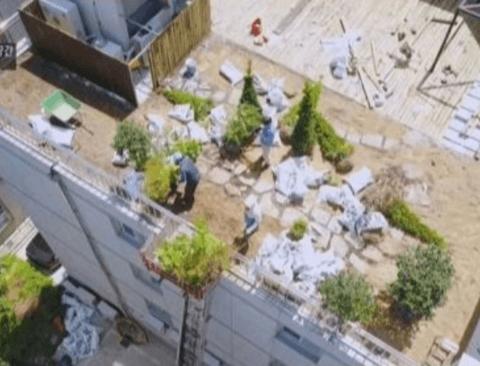 [스압] 옥상정원이 만들어 지는 과정