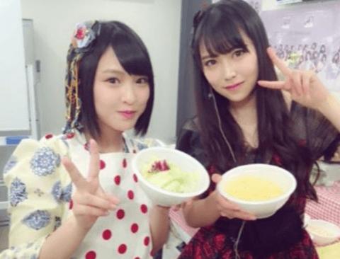 충격적인 일본 아이돌 한끼식사