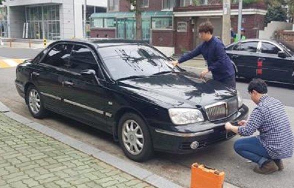 성산구, 체납차량'번호판 그물망 영치'(세무과) (2).jpg